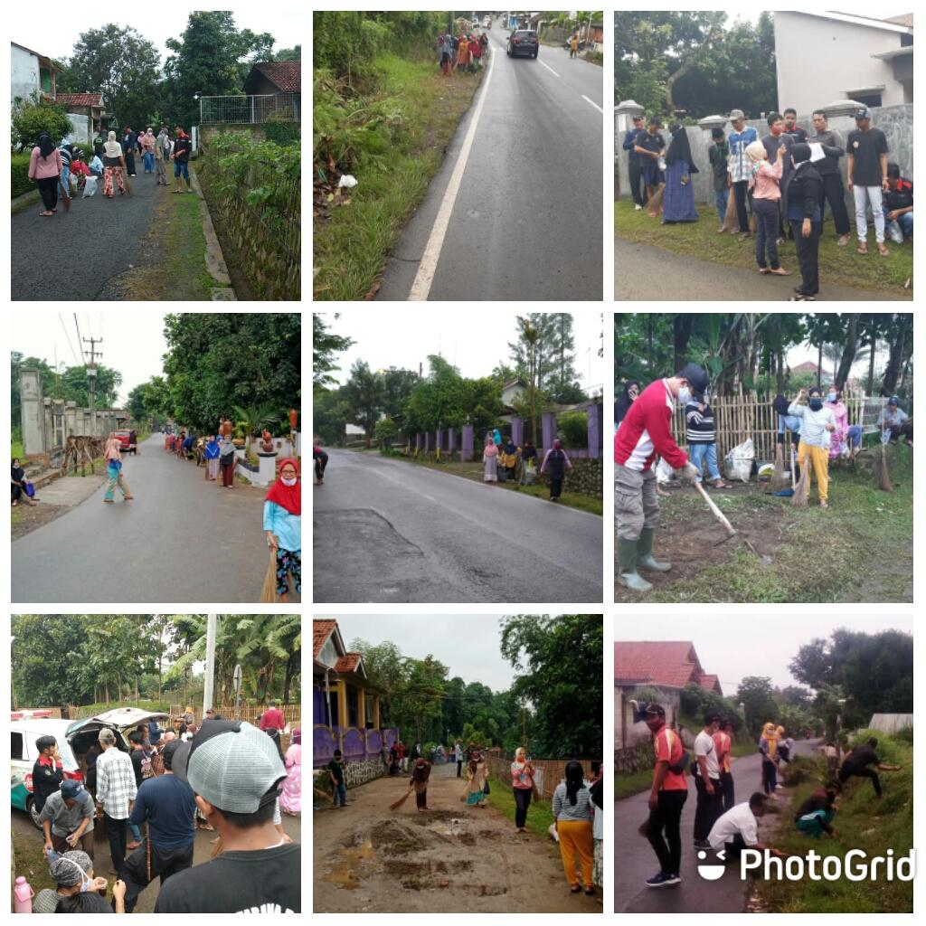 Kegiatan Bhakti SELASIH ( Selasa Bersih ) Desa Pasawahan Kidul